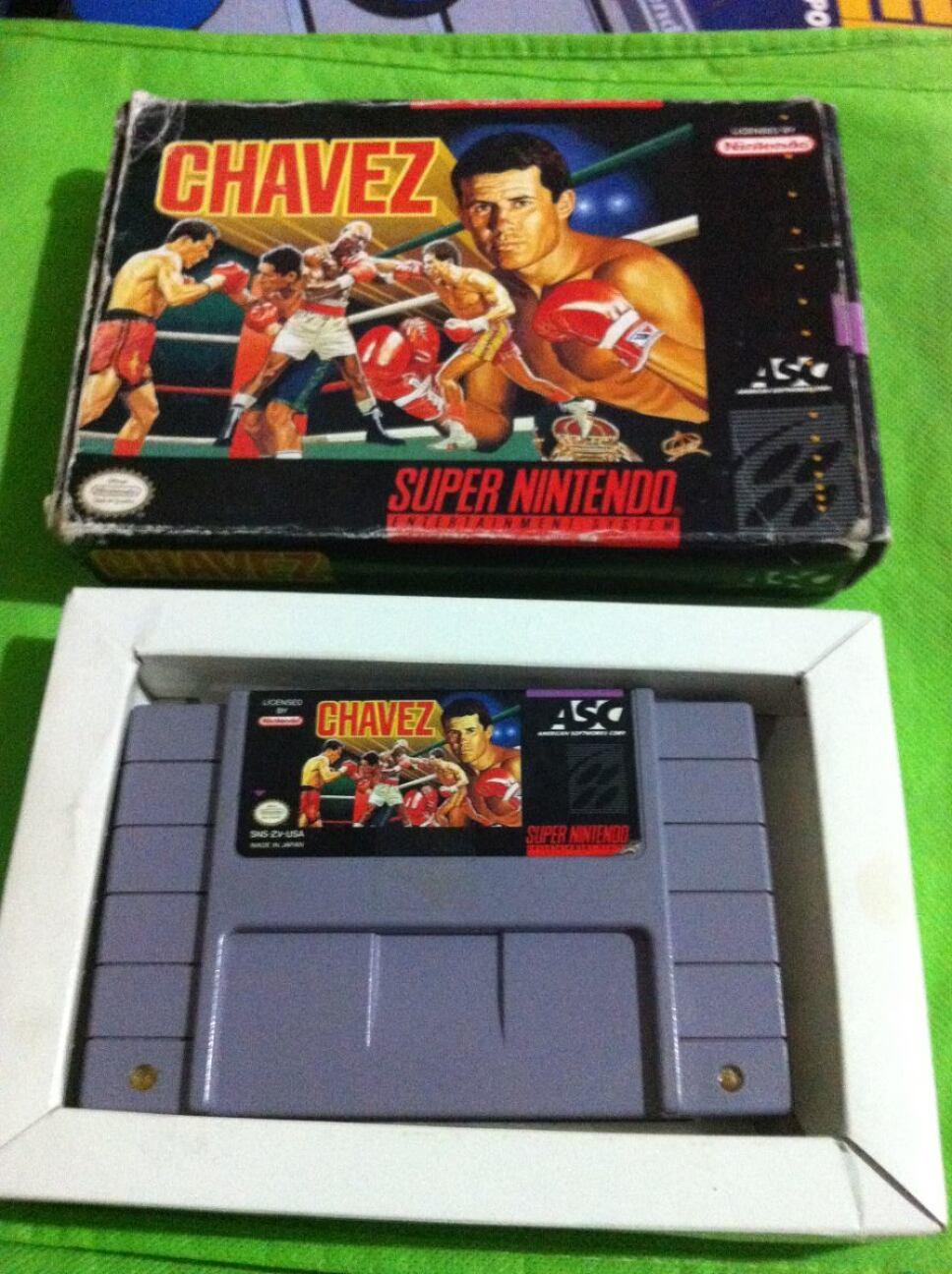 Cartucho del videojuego 'Chavez'