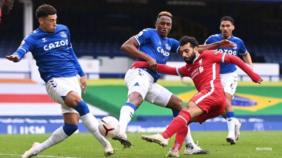 Everton y Liverpool empatan en el Derbi de Merseyside
