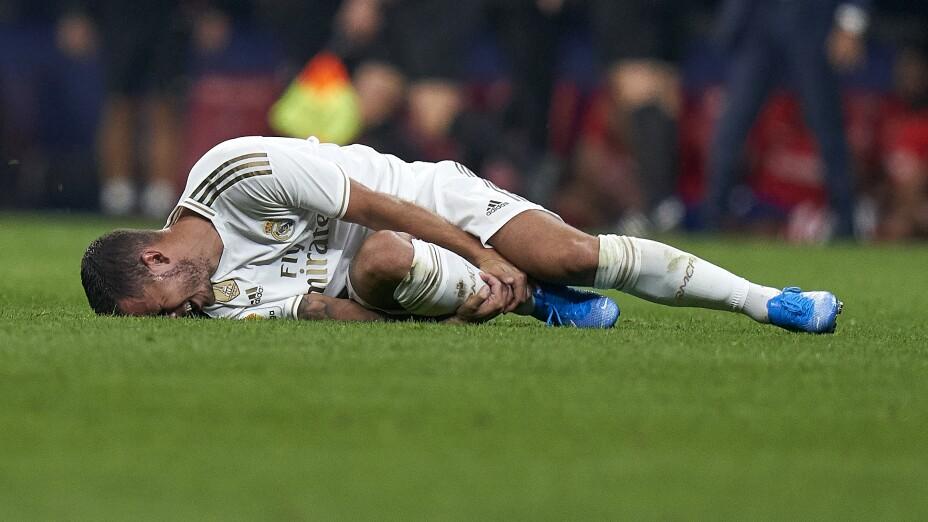 Eden Hazard sufre lesión