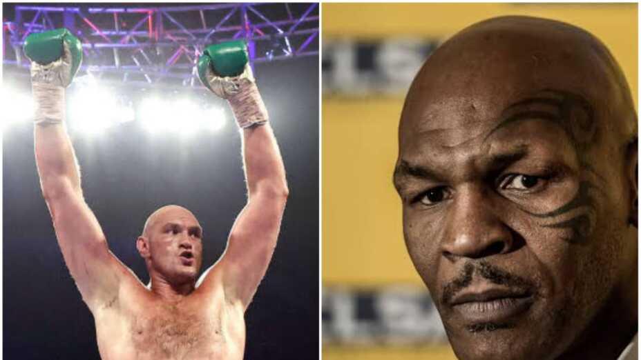 Tyson Fury sería el rival de Mike Tyson