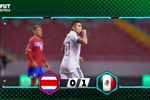 México 1-0 Costa Rica