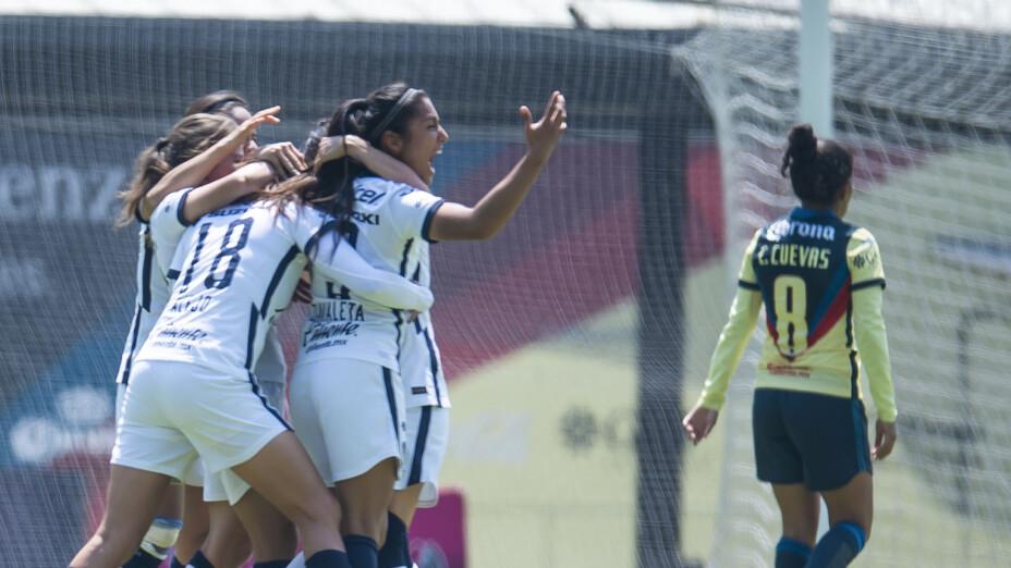 Milagro tardío en el primer capítulo del Clásico Capitalino entre Pumas y América