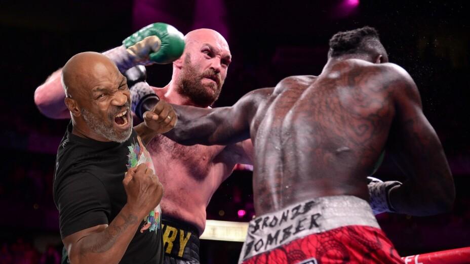Mike Tyson Tyson Fury