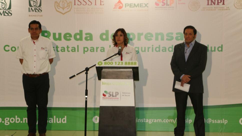 Gobierno de San Luis Potosí confirma primera muerte por COVID-19 en la entidad