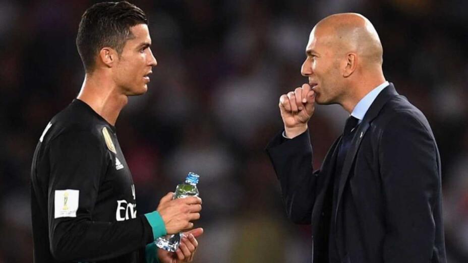 Zidane se reencontraría con Cristiano Ronaldo en el Manchester United.png