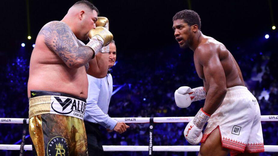Andy Ruiz boxeador peso completo
