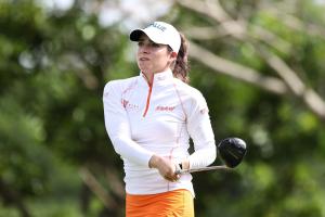 Gaby López hizo 64 golpes en la segunda ronda del Honda LPGA Thailand