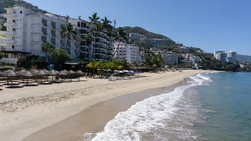 Puerto Vallarta sin turistas