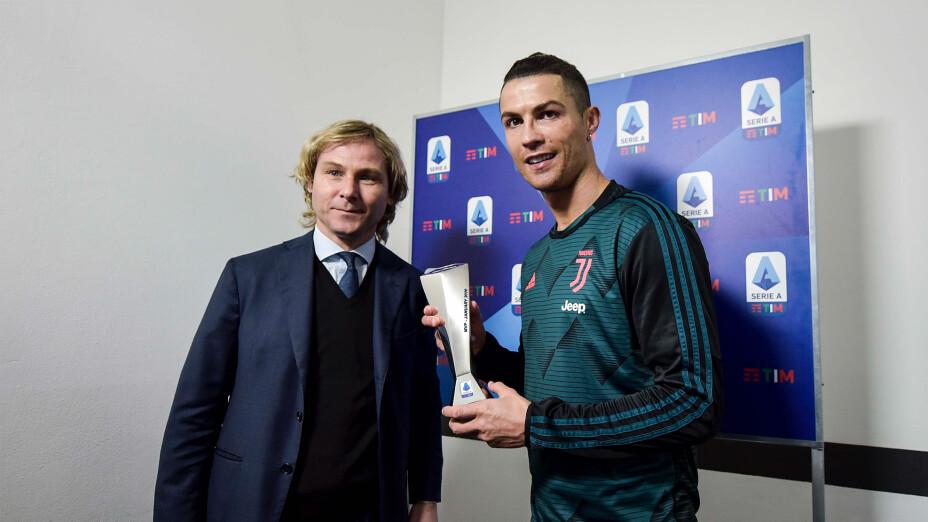 Pavel Nedved Cristiano Ronaldo Juventus