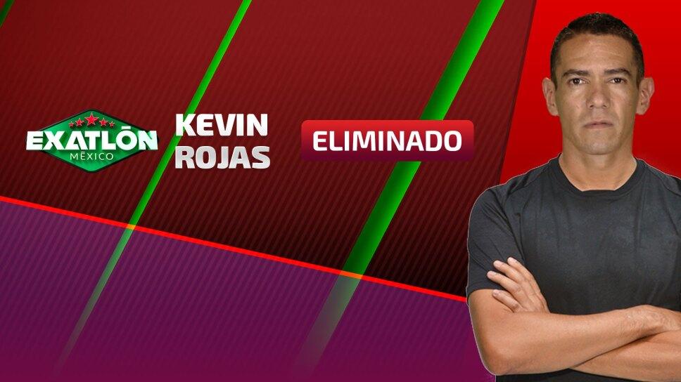 Eliminado Exatlón Kevin Rojas