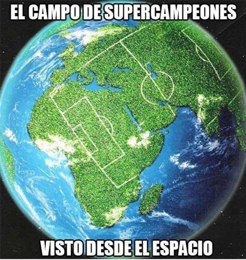 Cancha Super Campeones meme