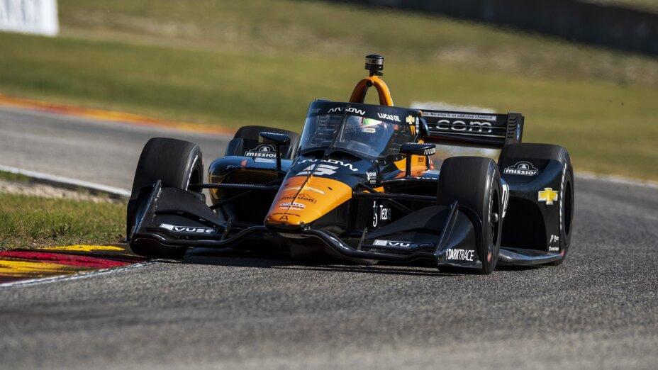 Patricio O'Ward en IndyCar