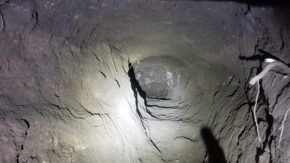 Encuentran túnel ilegal en la frontera de Sonora con conexión a Estados Unidos