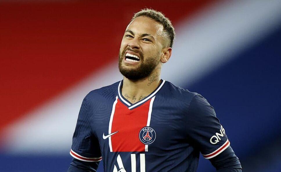 Neymar lesiones con el París Saint Germain