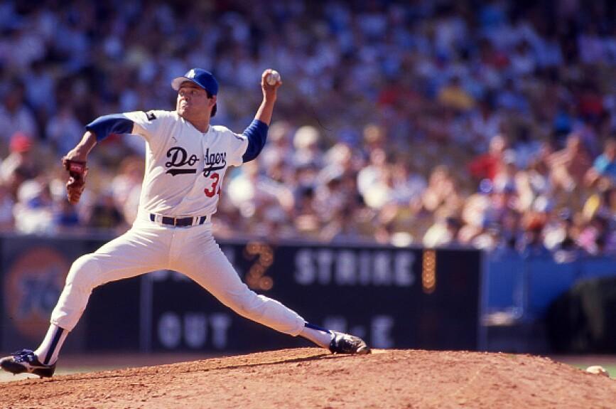 1. Fernando Valenzuela con Dodgers de Los Angeles en 1981
