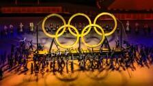 Aros Olímpicos en la Inauguración de Tokyo 2020