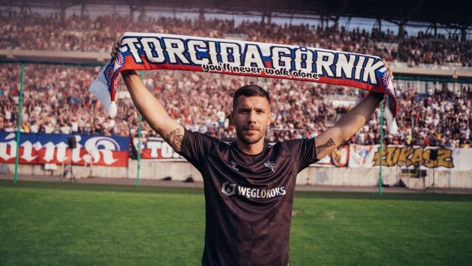 Lukas Podolski, jugador de Alemania