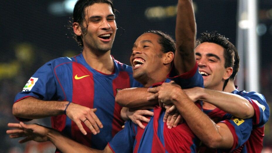 Ronaldinho Barcelona futbol