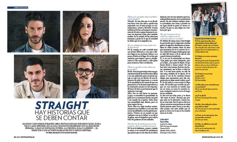 """Manolo Caro, nos habla sobre su nueva producción """"Straight"""""""