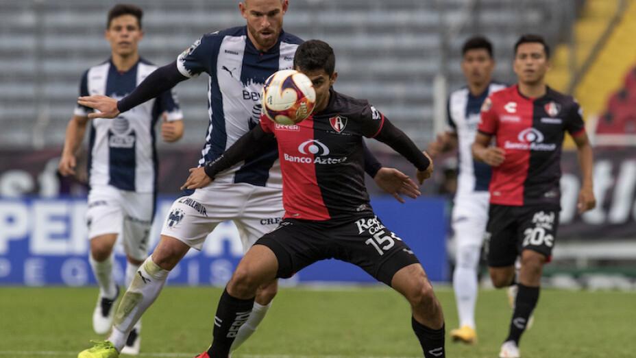 Atlas vs Monterrey Liga MX