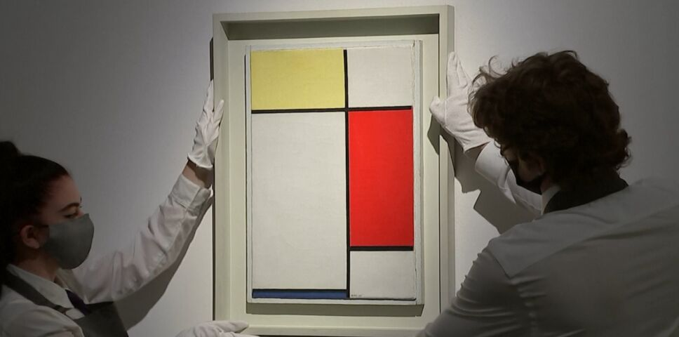 Pablo Picasso, Piet Mondrian y Vincent Van Gogh 2