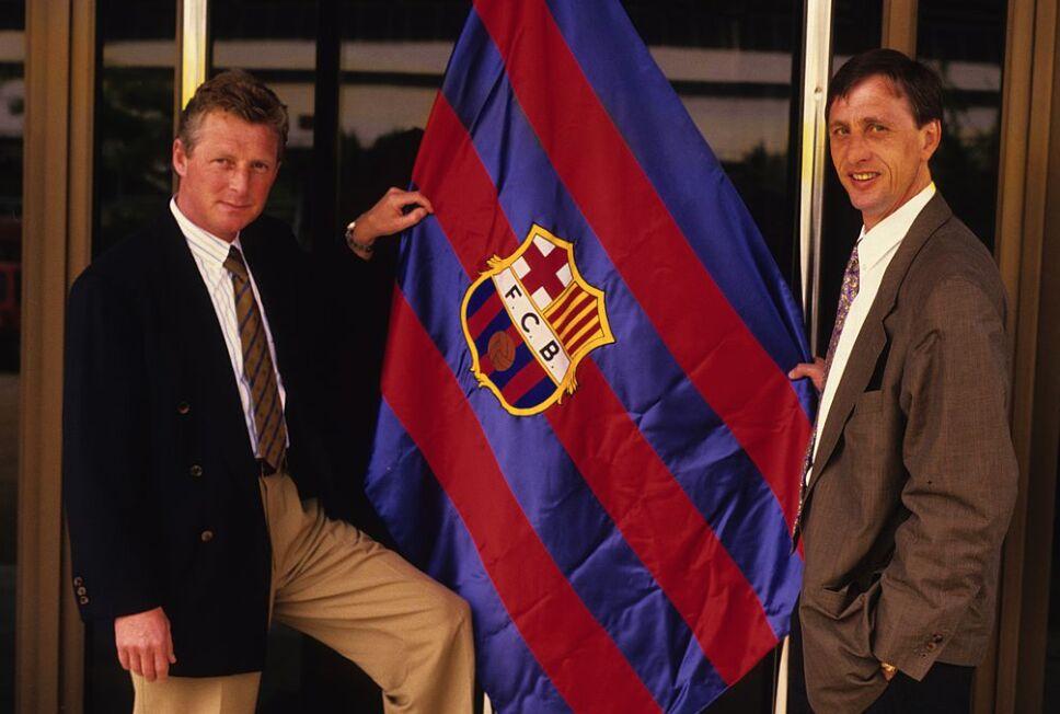 Johan Cruyff inició un estilo de juego en el futbol