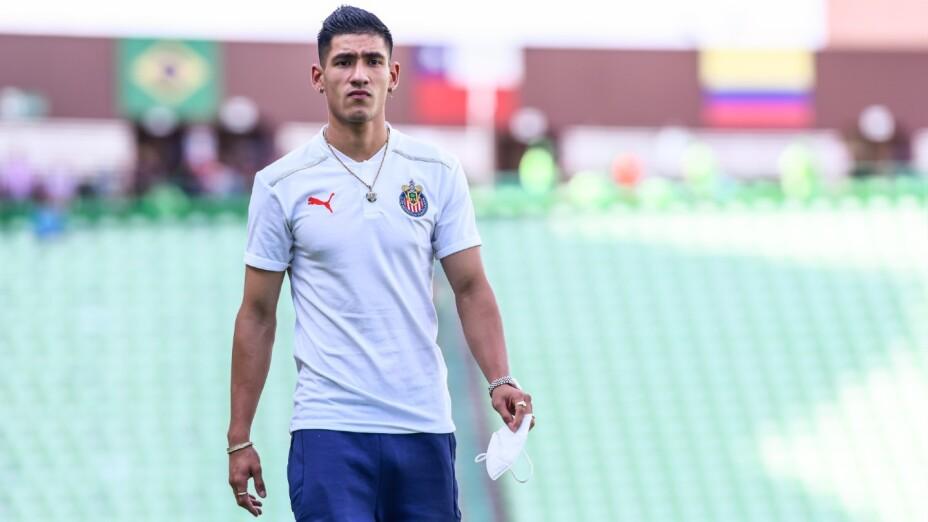 Uriel Antuna, jugador de Chivas