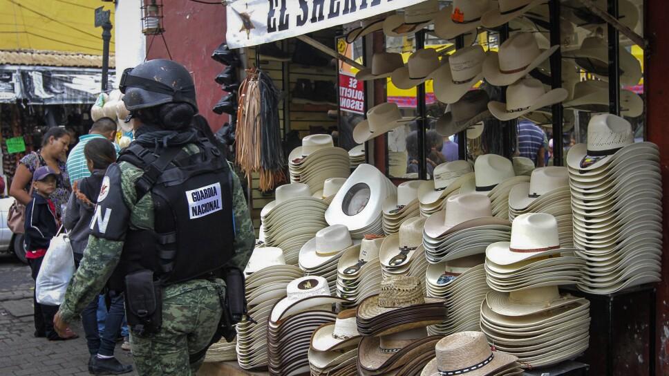 Guardia Nacional en Tepic