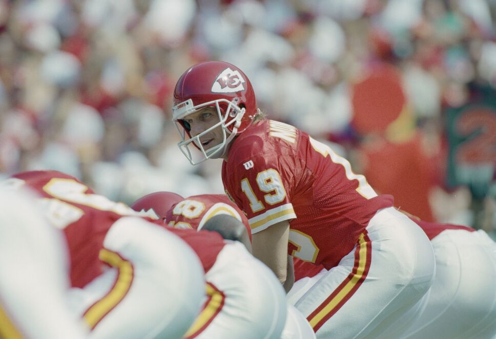 Joe Montana con Kansas City Chiefs