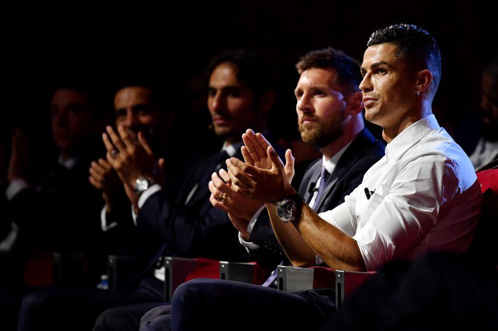CR7 y Messi