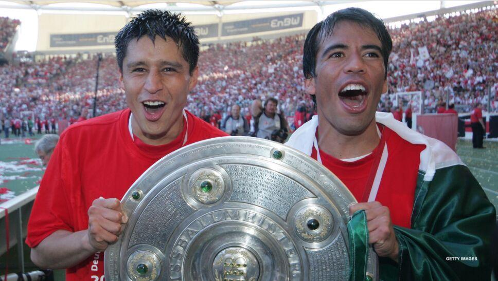 Ricardo Osorio y Pavel Pardo