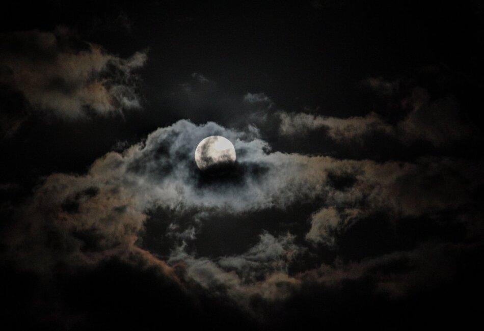 superluna desde uruguay foto