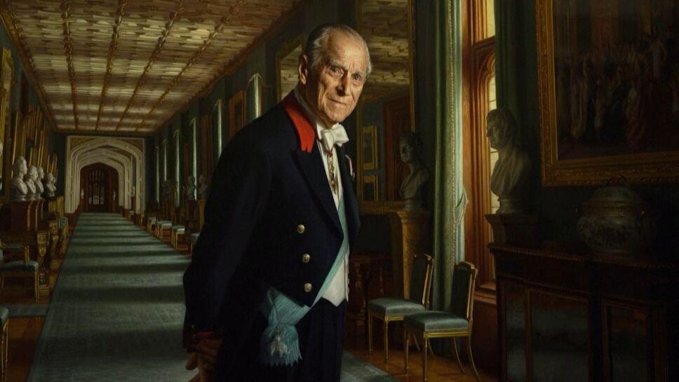 Exposición sobre Príncipe Felipe en el Castillo de Windsor.