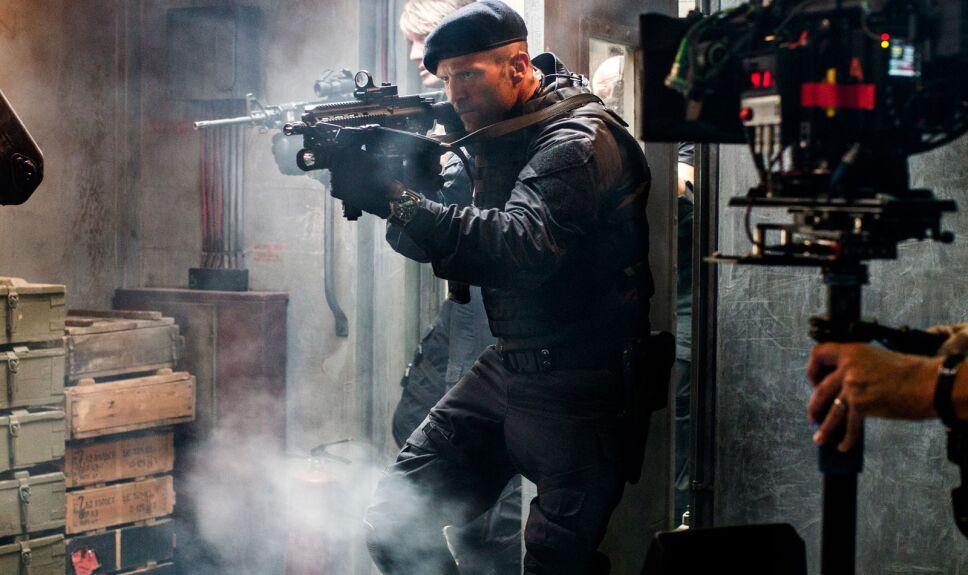 Jason Statham en Los Indestructibles 3