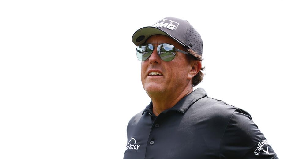 Phil Mickelson recibió exención para jugar el U.S. Open