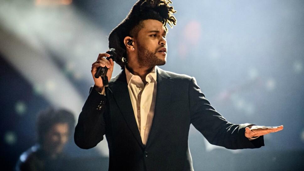 Foto Especial The Weeknd durante una presentación