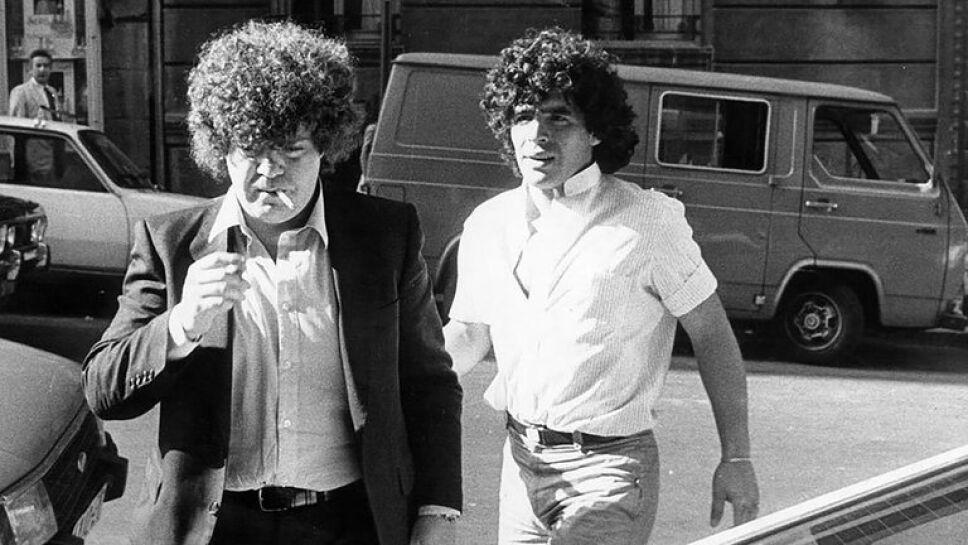 La amistad de Cyterszpiler y Maradona esports