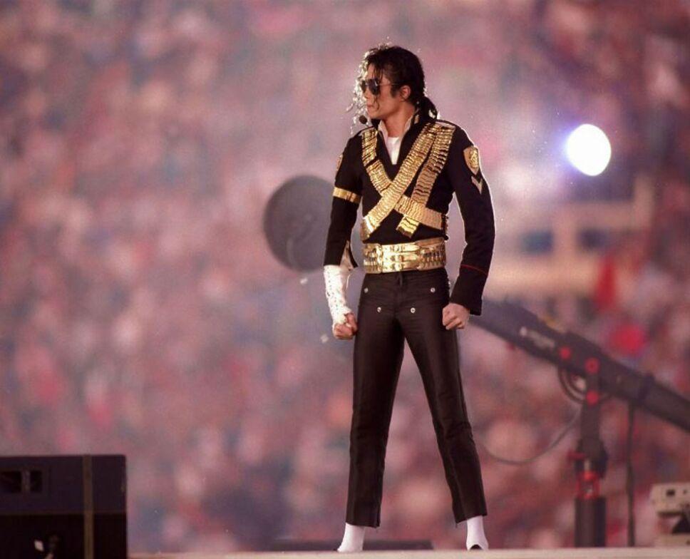 Michael Jackson en el Super Bowl XXVII