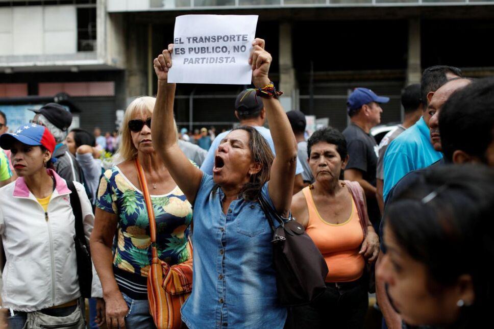 venezuela transporte manifestacion2