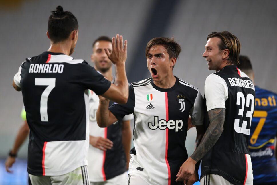 Juventus derrotó al Lecce 4-0 en casa