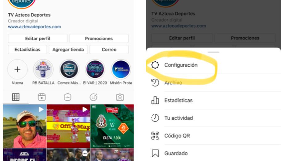 Cambiar el ícono de instagram