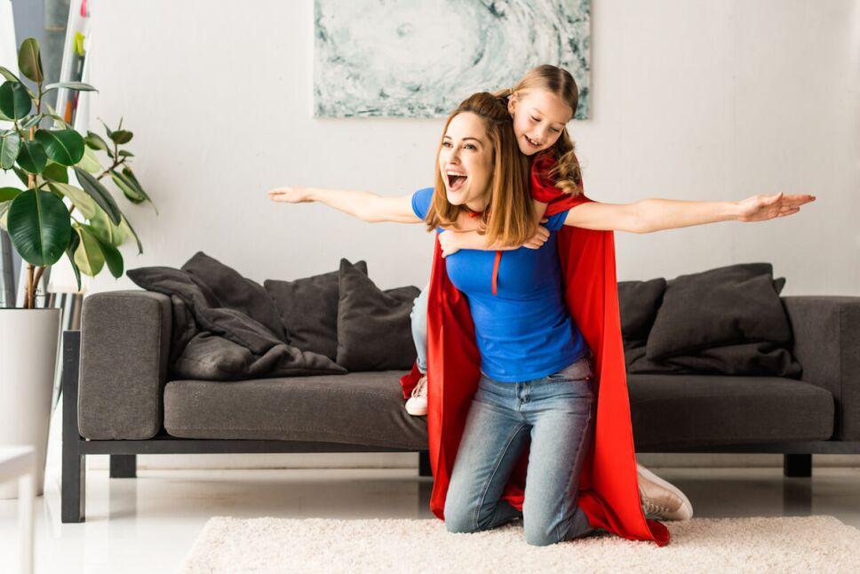 mama con superpoderes