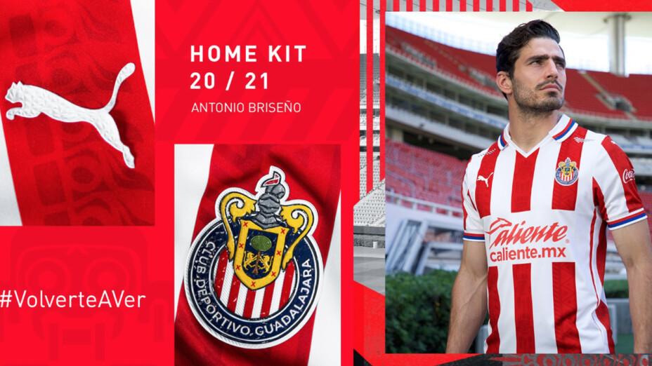 El jersey de Chivas para Guard1anes 2020