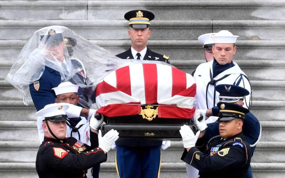 john mccain funeral3