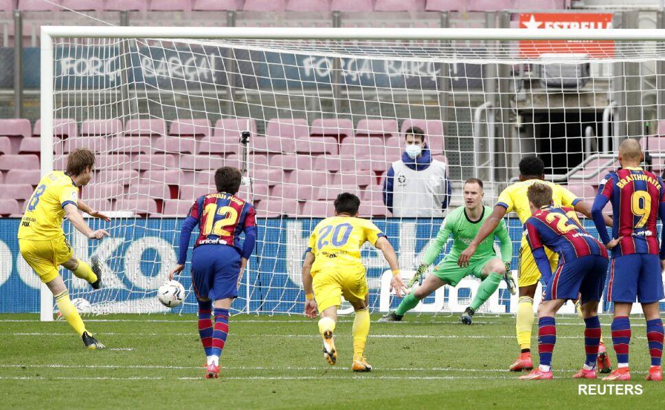 Penal de Cádiz ante Barcelona