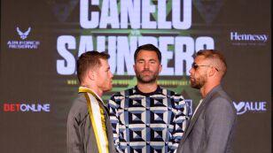 Conferencia de prensa Canelo Álvarez vs Billy Joe Saunders