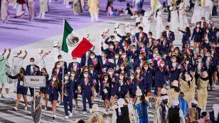 Desfile de la Delegación Mexicana en Juegos Olímpicos Tokyo 2020.jpg