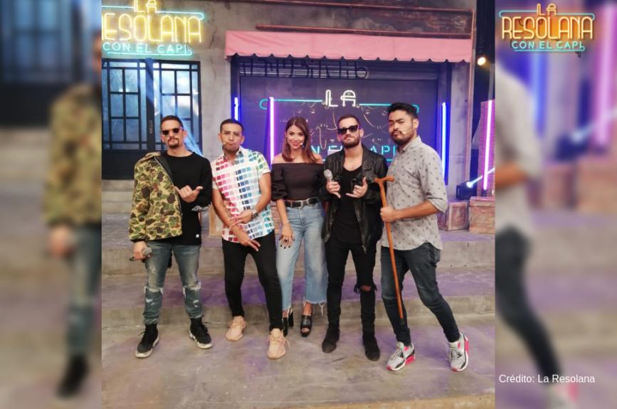 Mau y Ricky, Ferka, Hugo El Cojo Feliz y Capi