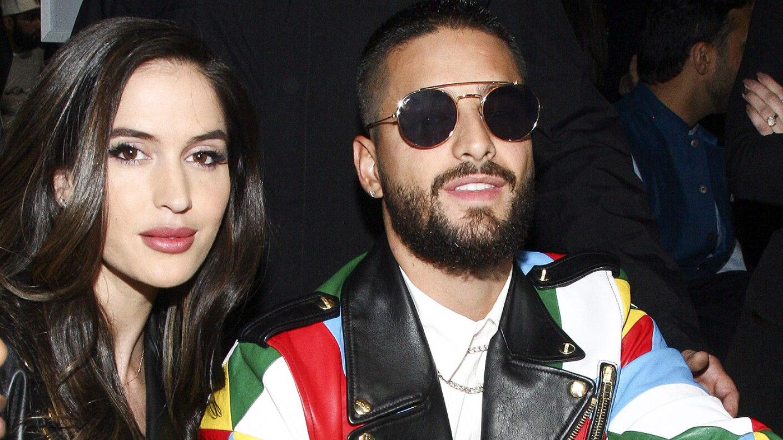 Conoció a Maluma en la filmación del video de 'Felices los 4'.