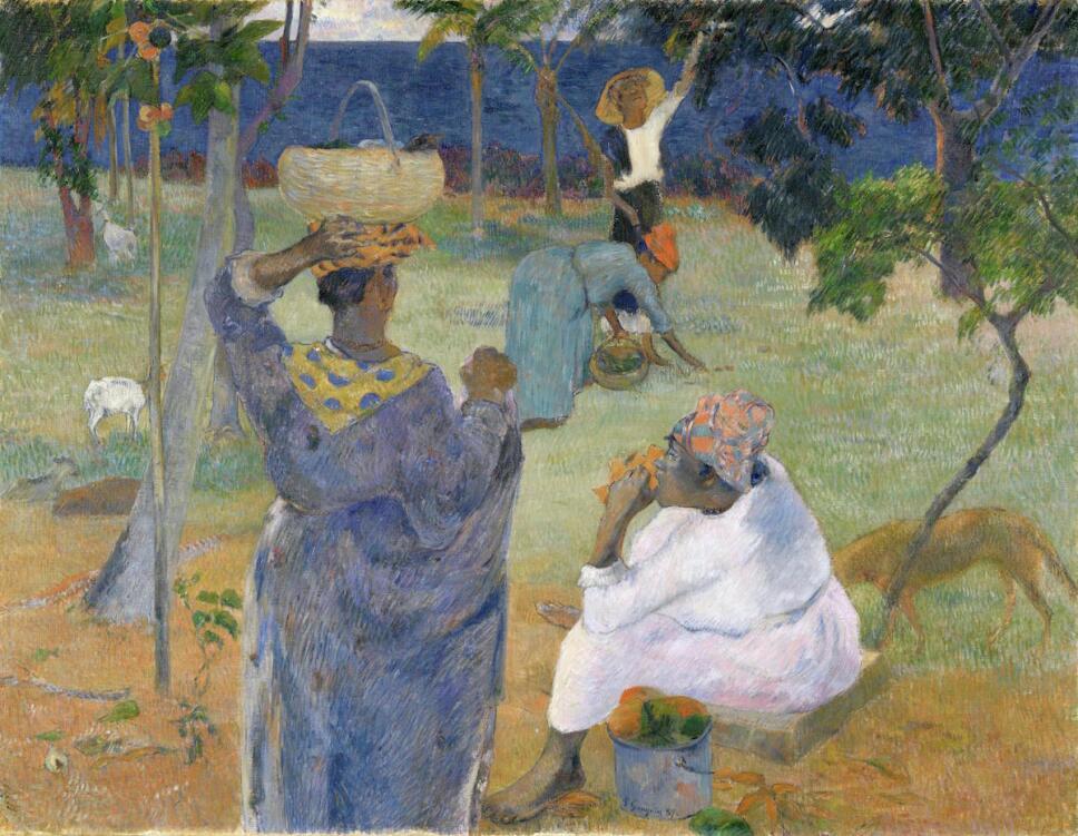 obras de paul gauguin entre los mangos